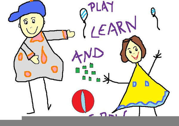 Play Learn And Grow Clipart.