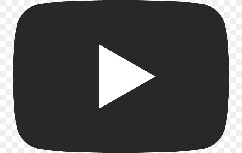 YouTube Play Button Logo, PNG, 734x518px, Youtube, Black.