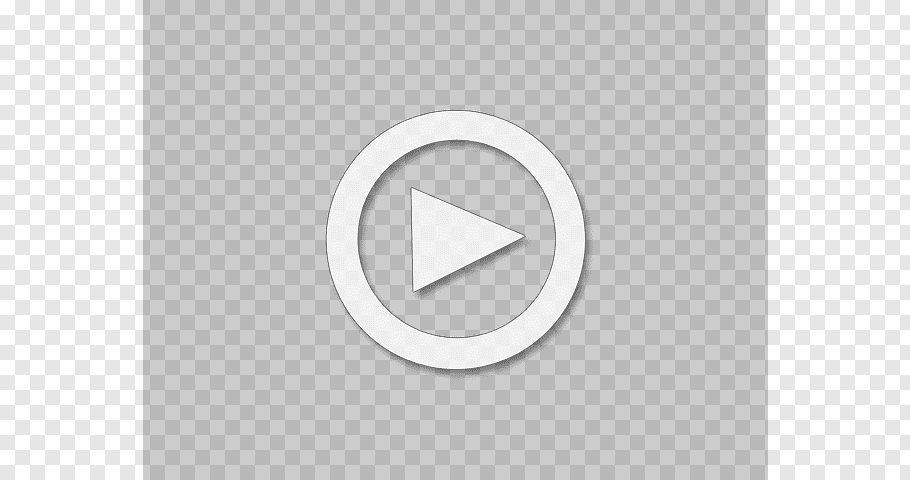 White and black play video icon illustration, Logo Brand.
