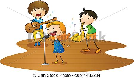 Play music clipart #17