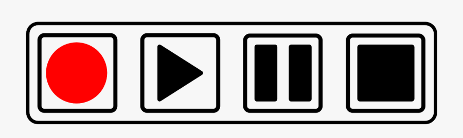 Buttons Stop Play Pause Record Png Image Picpng.