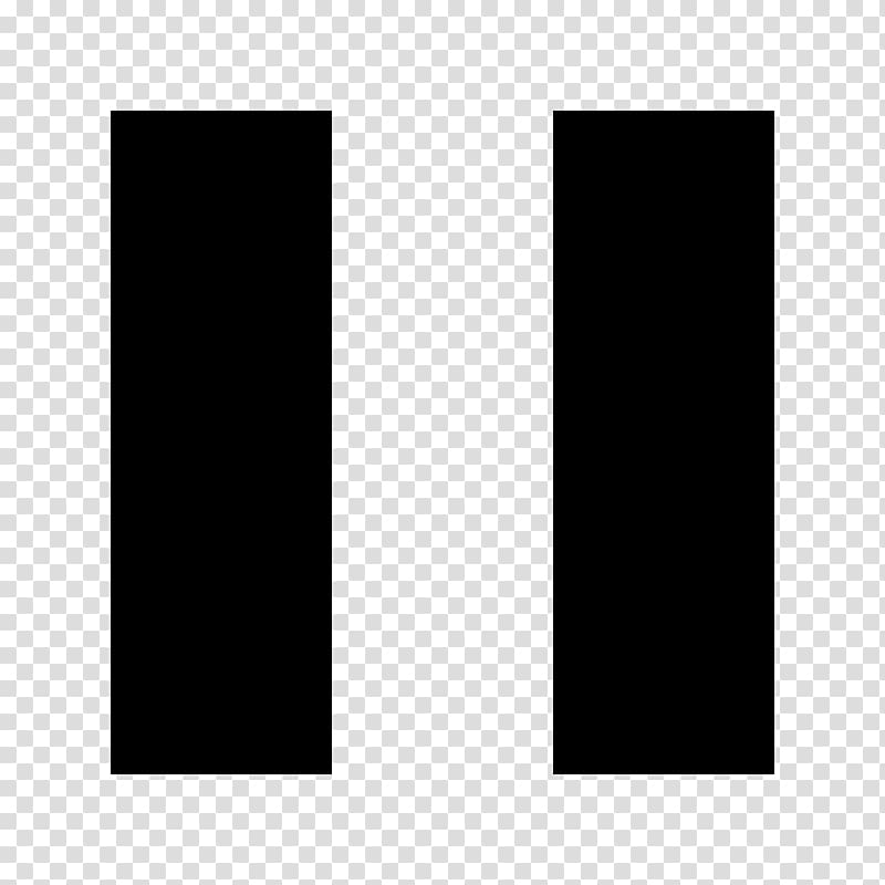 Computer Icons, pause button transparent background PNG.