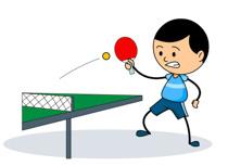 Play Table Tennis Clipart.