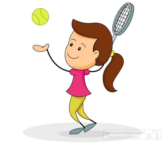 Tennis Clipart Images.
