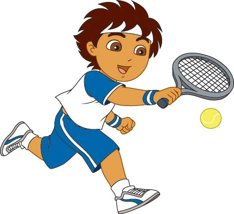 Play tennis clipart » Clipart Station.