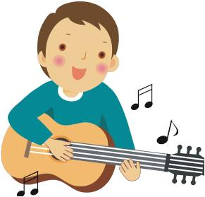 Playing guitar clipart 2 » Clipart Station.