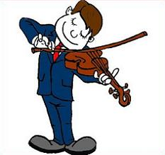 play the violin clipart - clipground