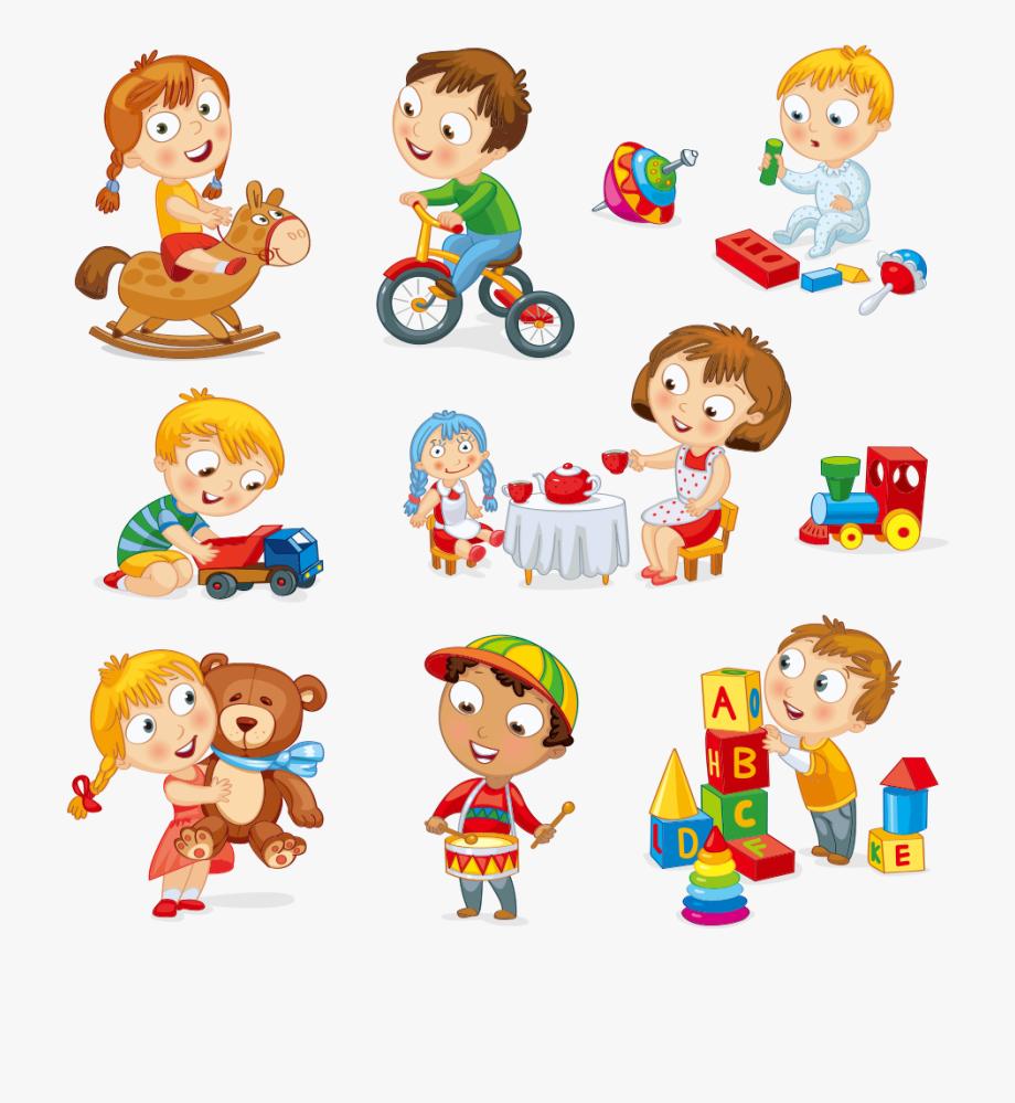 Child Toy Play Cartoon.