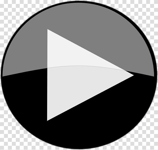 White play button illustration, Computer Icons YouTube Play.