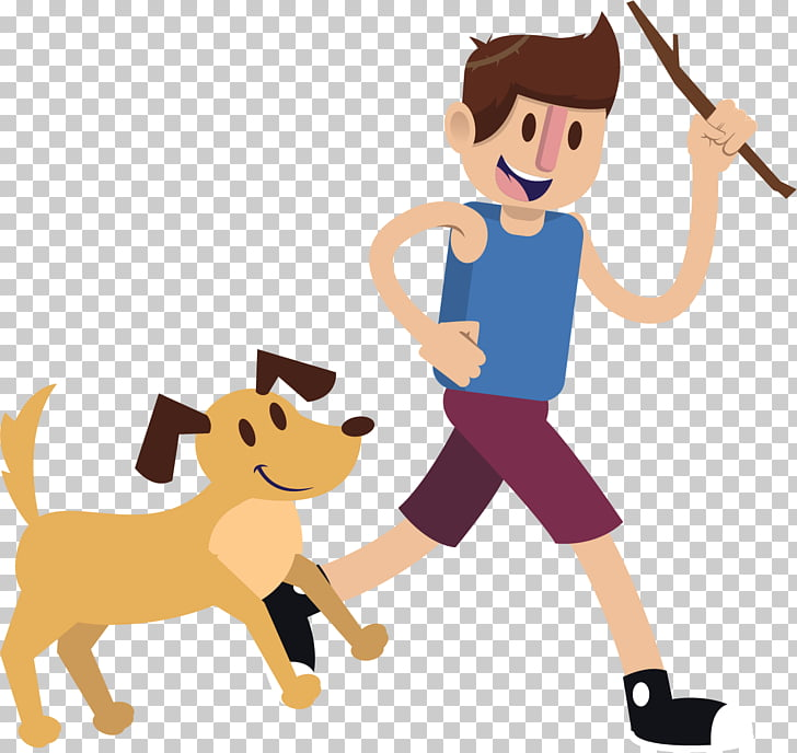 Puppy Dog Boy Pet , Play with your dog PNG clipart.