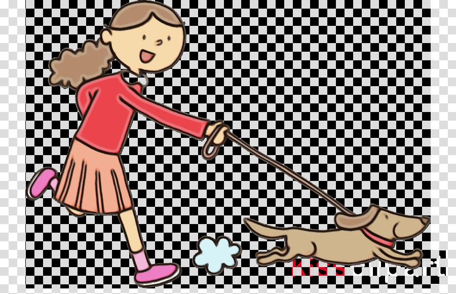 cartoon clip art playing sports dog walking play clipart.