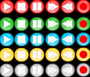 Playback Buttons Clip Art at Clker.com.