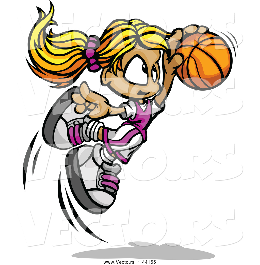 Showing post & media for Cartoon character clip art basketball.