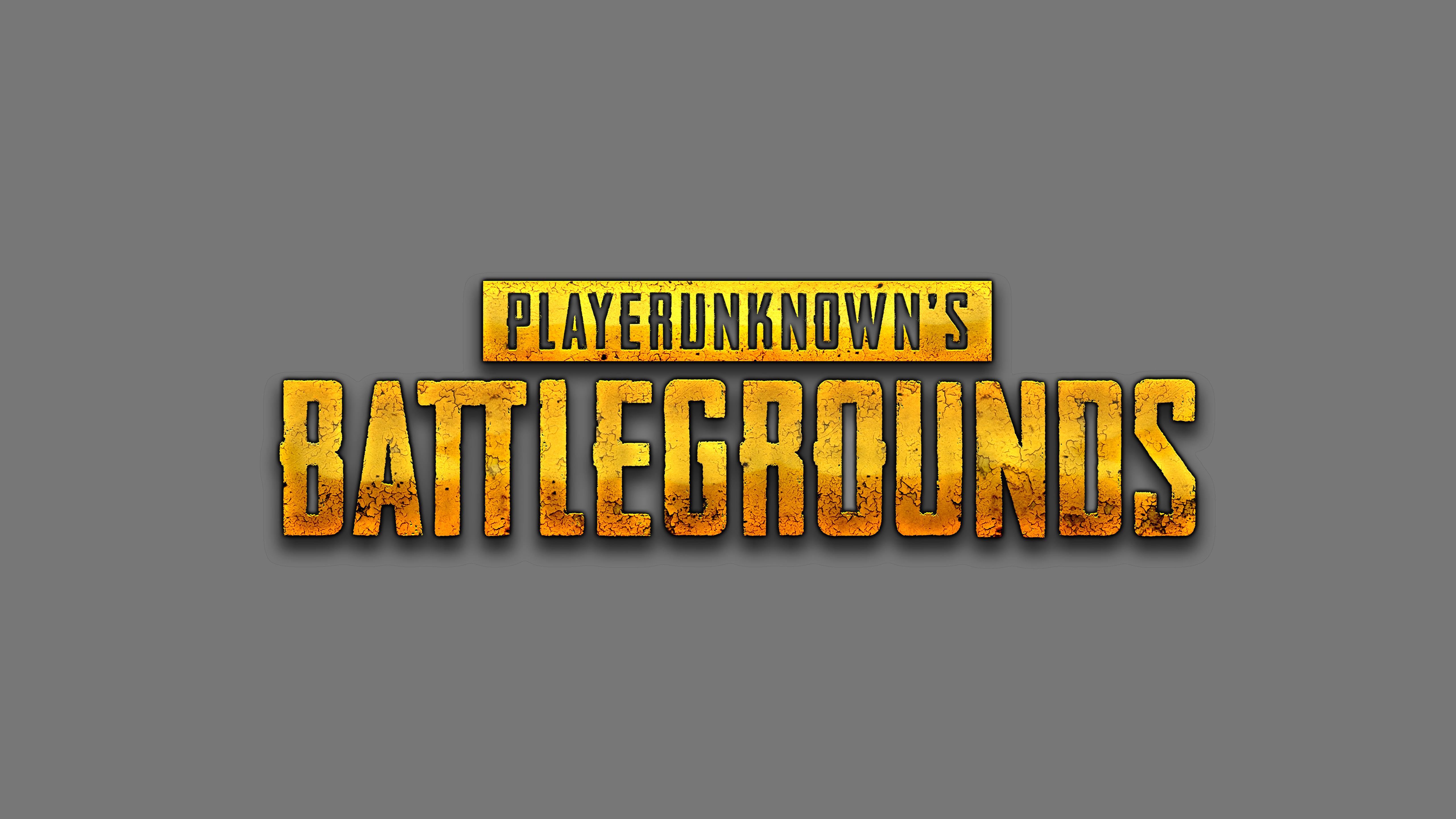 PlayerUnknowns Battlegrounds Logo 5k, HD #798898.