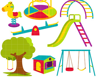 Playground Clipart.