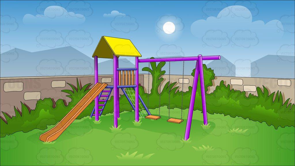 Playground Clipart Background.