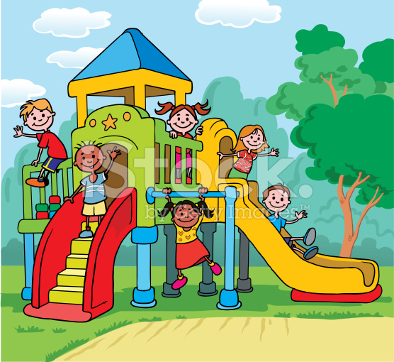Playground Clipart For Kids.