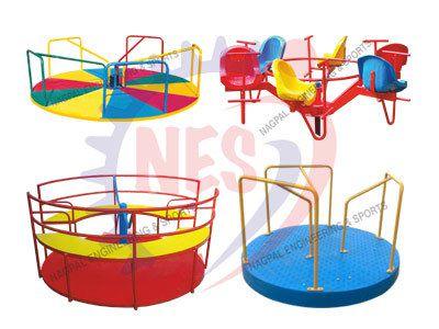 Playground Merry Go Round.
