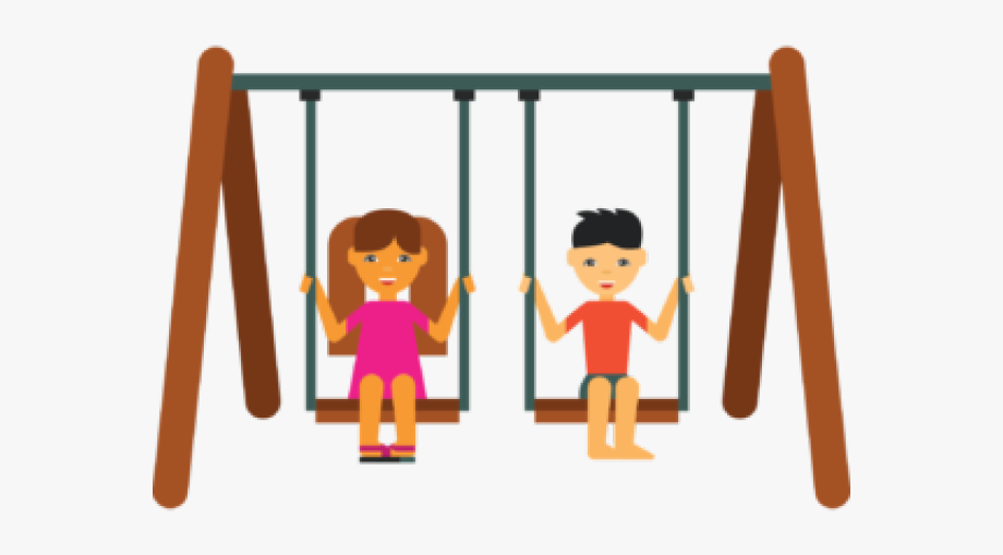 Swing Clipart Playground Safety #803621.