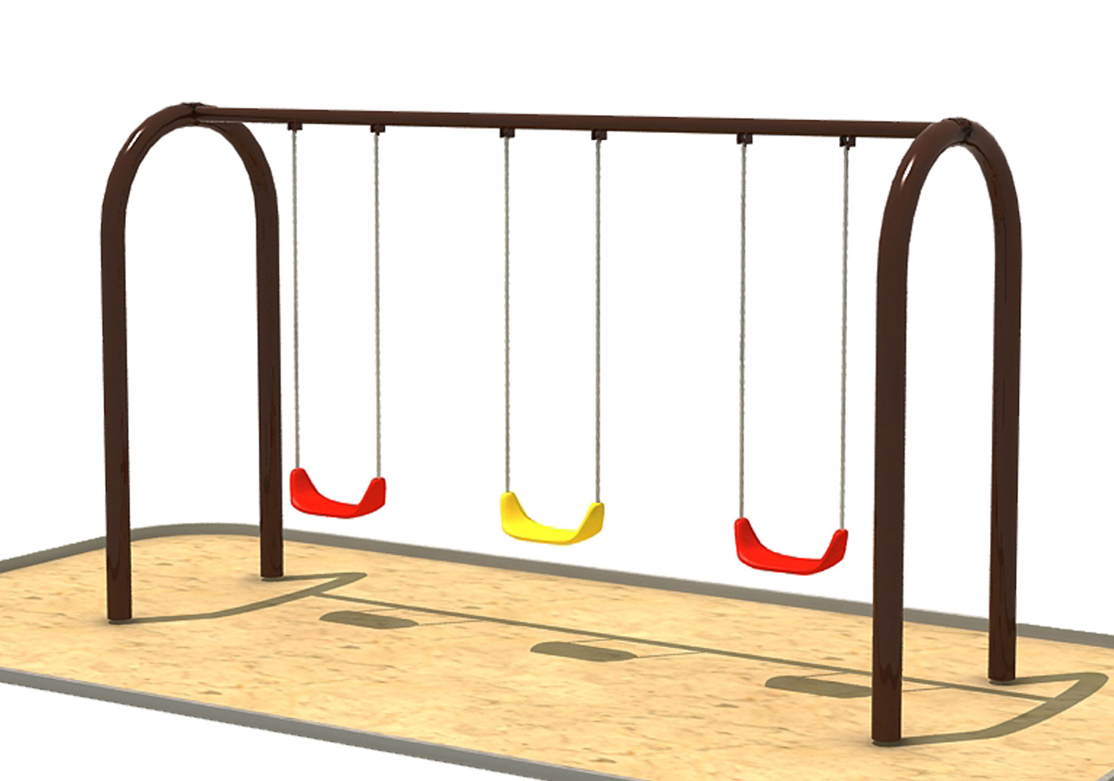 Playground Swings Clipart.