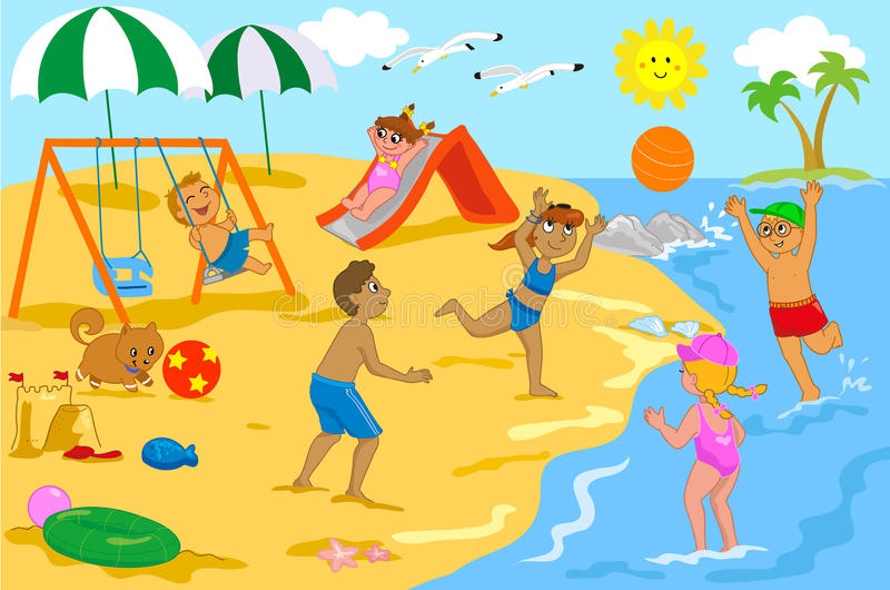 The beach clipart 2 » Clipart Station.
