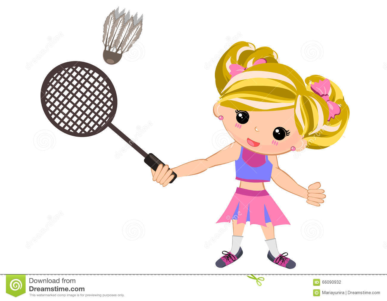 Kids playing badminton clipart 11 » Clipart Station.