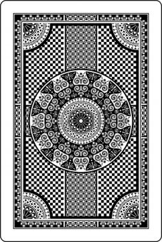 playing card backs clipart - Clipground