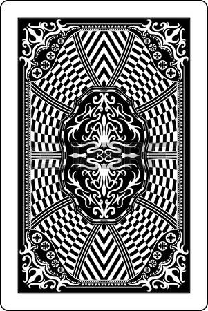 1,053 Playing Cards Back Stock Illustrations, Cliparts And Royalty.