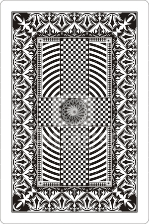 Playing Card Back Designs Pictures to Pin on Pinterest.