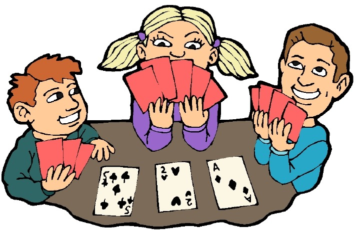 Playing card images clip art.