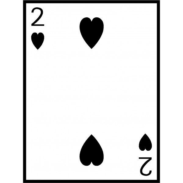 Playing card clipart.