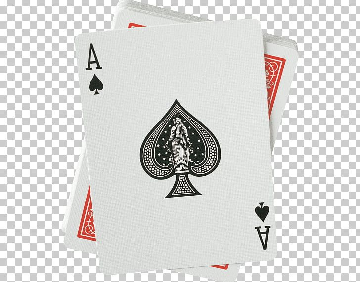 Ace Of Spades Playing Card Standard 52.