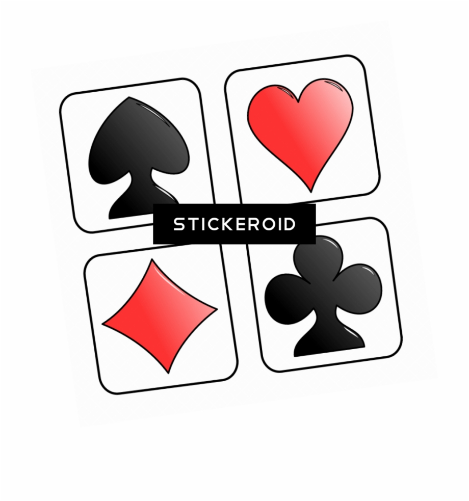 Playing Card Symbols Clip Art Cards.