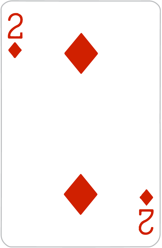 52 Playing Cards.