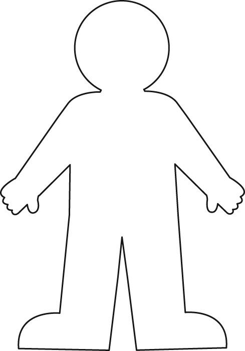 Child Outline.