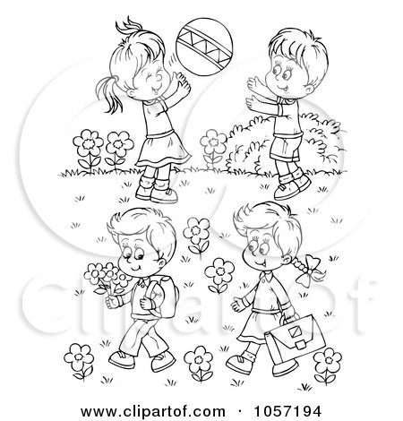 Royalty Free Sister Illustrations by Alex Bannykh Page 2.