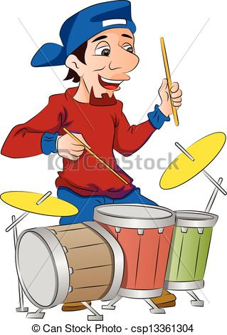 Playing drums Illustrations and Clip Art. 5,107 Playing drums.