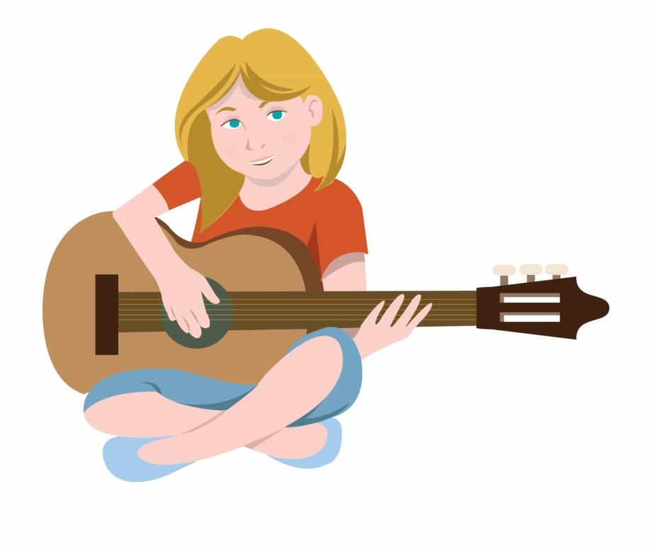Acoustic Guitar Clipart Comic.