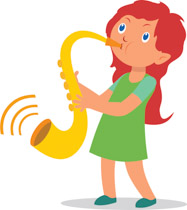 Free Musical Instruments Clipart.