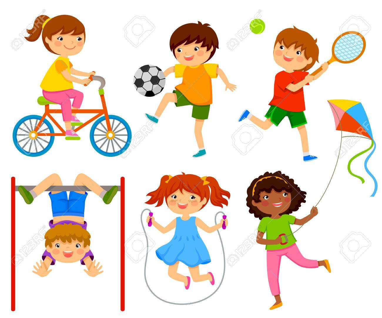 Children playing outside clipart 7 » Clipart Portal.