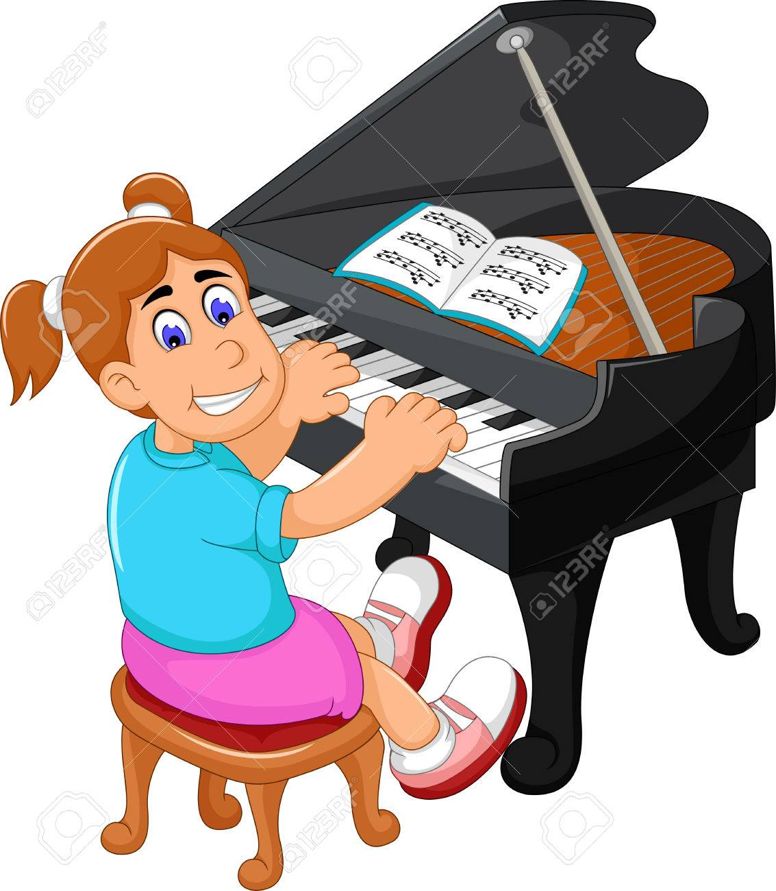Play piano clipart 4 » Clipart Station.