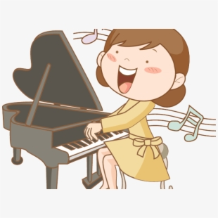 Free Playing Piano Clipart Cliparts, Silhouettes, Cartoons.