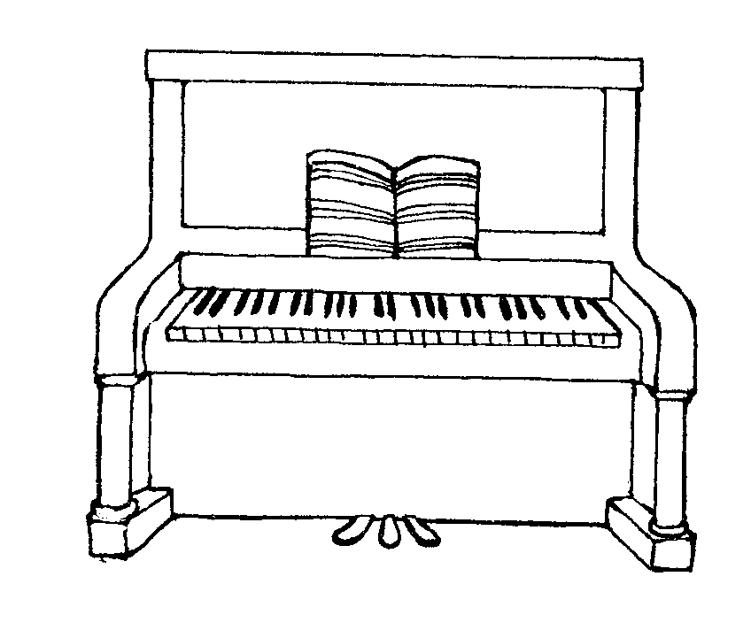 Mormon Share } Piano.