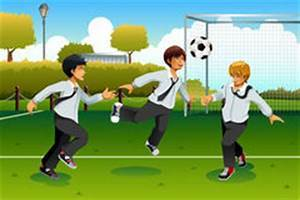 Playing soccer with friends clipart 3 » Clipart Portal.