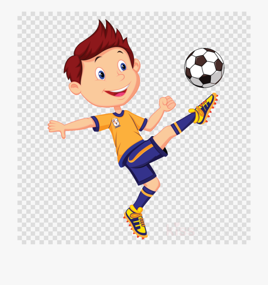 Download Playing Football With Friends Clipart Football.