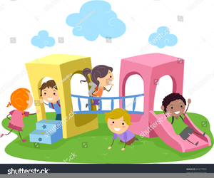 Children With Friends Clipart.