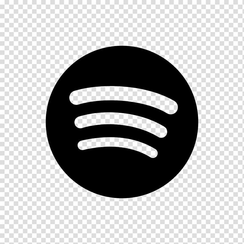 Black Spotify logo, Spotify Music Playlist Streaming media.