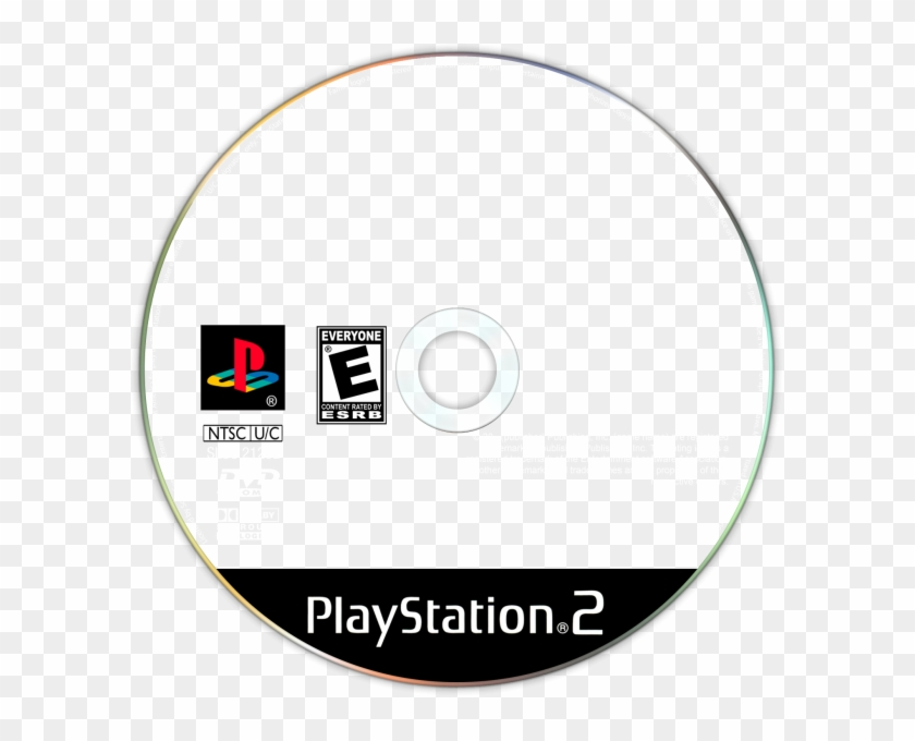 Playstation 2 Disc Template, HD Png Download (#464062), Free.