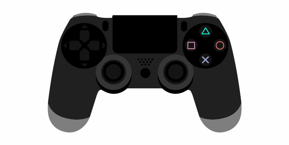 Playstation 4 Controller Vector And Png Free Download.
