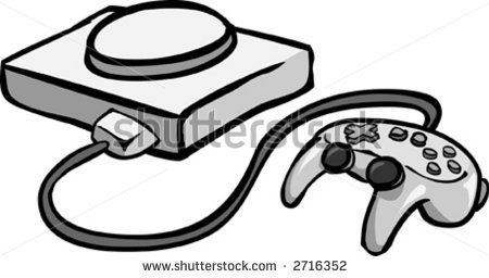 Playstation 1 Clipart.